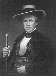Sam Houston was Scotch-Irish (Ulster Scots) descent, and namesake for the city of Houston, Texas.[65]