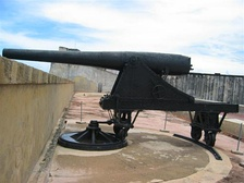 Ordoñez 15 cm cannon which opened fire on Yale[19]