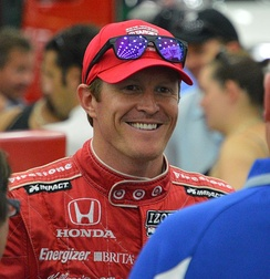 Scott Dixon, 2020 IndyCar Series National Champion.