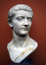 Bust of Tiberius, a successful military commander under Augustus before he was designated as his heir and successor