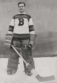 Tiny Thompson was the goaltender for the Bruins from 1928 to 1938. He helped the team win its first Stanley Cup in 1929.