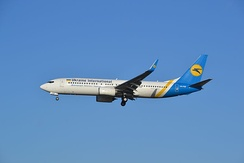Boeing 737—800 компании Ukraine International Airlines