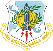 706th Strategic Missile Wing insignia