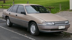 The second generation Commodore (VN Calais pictured) overcame the previous generation's width problems.