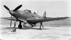P-39D as used by the group for training