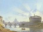 Castel Sant'Angelo in Rome, 1823-1826