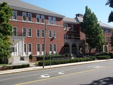 Anderson Hall, the School of Engineering