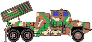 Bateleur Multiple Rocket Launcher