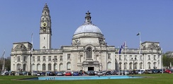Cardiff City Hall in Cathays Park