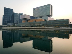 Cleveland Clinic Abu Dhabi, a multidisciplinary 364 bed hospital branch of Cleveland Clinic Foundation, USA.