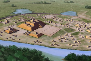 The Mississippian culture was a mound building Native American urban culture that flourished in the South and Eastern United States before the arrival of Europeans.