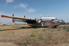 Fairchild C-119L 53-8076 at the Museum of Flight and Aerial Firefighting in Greybull, Wyoming