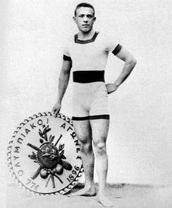 Alfréd Hajós, the first Olympic champion in swimming, is one of only two Olympians to have won medals in both sport and art competitions
