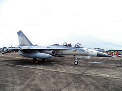 IDF F-CK-1B Display in Chiayi AFB