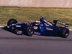 Trulli driving for Prost at the 1999 Canadian Grand Prix
