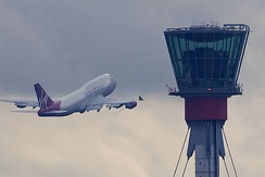 Heathrow's control tower