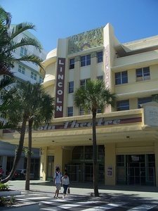 Lincoln Theater in Miami Beach, Florida by Thomas W. Lamb (1936)
