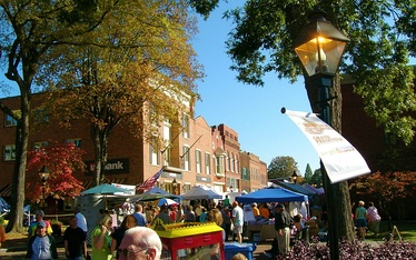 Downtown Rogersville during Heritage Days