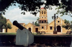 Historic Centre of Santa Cruz de Mompox, an architectural site with colonial elements
