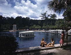 Silver Springs in Ocala is one of the many natural springs and lakes found in Central Florida.