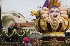 A float from the 2008 Rose Parade