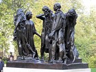 Auguste Rodin, The Burghers of Calais, 1884–c. 1889, in Victoria Tower Gardens, London, England.