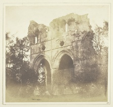 Tomb of Walter Scott, in Dryburgh Abbey by Henry Fox Talbot, 1844