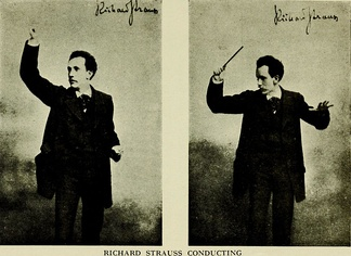Strauss conducting (circa 1900)