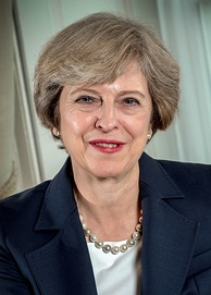 Theresa May, Prime Minister of the United Kingdom (2016–2019)