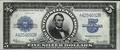 Abraham Lincoln – Series of 1923 $5 bill