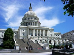 The United States Congress approves federal funding for water and sanitation, including through State Revolving Funds.