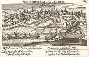Valisolet, 1640, engraved by Germans Daniel Meisner and Paulus Fürst.