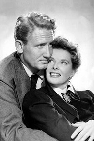 Tracy's relationship with his frequent co-star Katharine Hepburn lasted from 1941 until his death. He never divorced his wife, Louise Tracy. Promotional image for Without Love (1945).