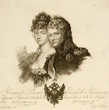 Alexander and Louise of Baden