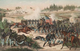The Battle of Olustee was the only major Civil War battle fought in Florida.