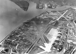 Bolling Field and Anacosta Naval Air Station, mid-1940s