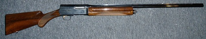 A Browning A-5 semi-automatic shotgun
