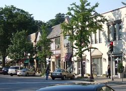 View of downtown Bronxville