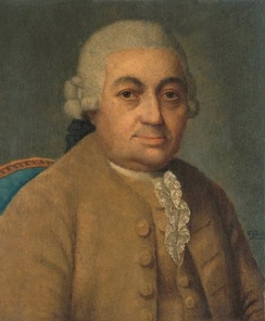 Carl Philipp Emanuel Bach, by Franz Conrad Löhr (after Johann Philipp Bach)