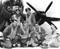 B-26 crew at Midway Island