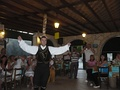 Cyprus folk dance with glasses in Paphos