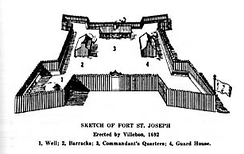Built in 1692, Fort Nashwaak was the capital of the French colony of Acadia, after the French defeat at Port Royal. Nashwaak was later captured by the English in 1696.
