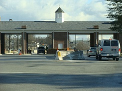 The main entrance to Fort George G. Meade, Maryland, home of the 70th ISR Wing.
