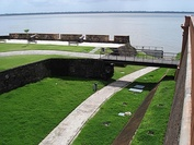 Fort of the Nativity (Forte do Presépio), in Belém city, Brazil.