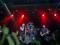 Good Charlotte performing in 2011.