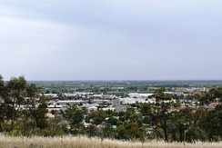 Griffith from Scenic Hill lookout