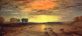 Joseph Mallord William Turner, The Park at Petworth House, c. 1830