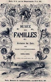 Cover of an 1854–55 issue of Musée des familles