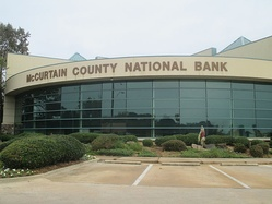 McCurtain County National Bank in Broken Bow, Oklahoma