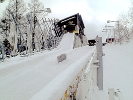 Spiral in 2007. For the 1998 Winter Olympics in Nagano, this venue hosted the bobsleigh and luge events.